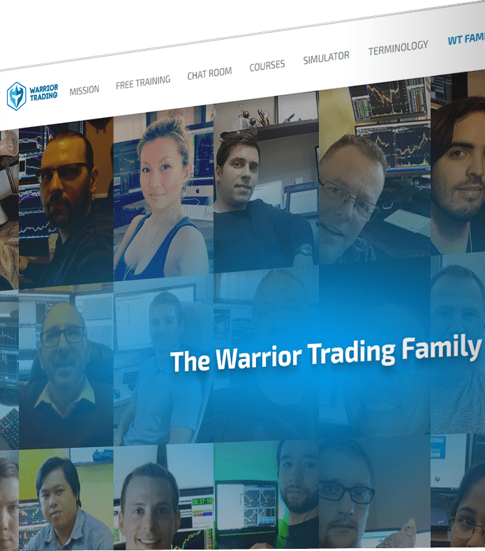 WarriorTrading.com web site development