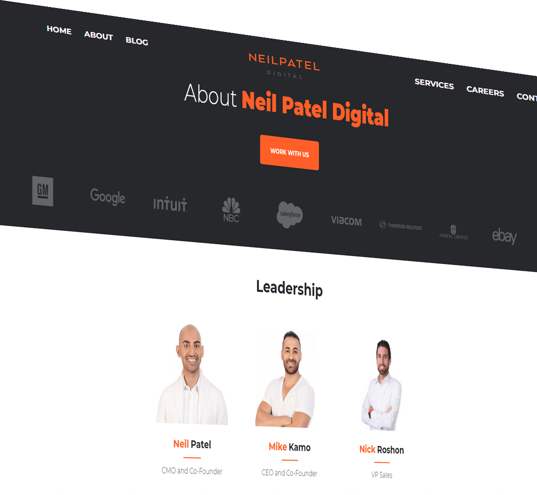 Web developer of Neil Patel Digital